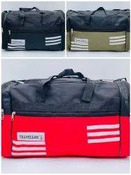3x3 Rexine 8NO Zip Good Quality Travel Bag Medium Size - SNT -507