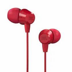 Mobile JBL T50HI in-Ear Wired Headphone, Model Name/Number: JBLT50HIREDIN
