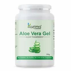 KAZIMA Pure Aloe Vera Gel Multipurpose Beauty Gel For Skin & Hair