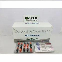 Doxypen Doxycycline 100mg Capsules