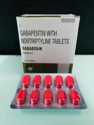Gabapentin with Nortriptyline Tablets IP