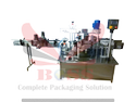 Double Side Vertical Labeling Machine For Oval Bottles