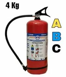 Dry Powder Type A Class Omex Fire Extinguishers, For Industrial Use, Capacity: 4 Kg