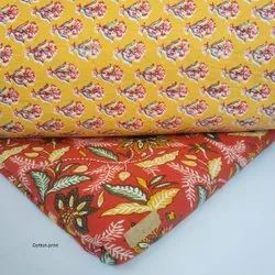 Cotton Printed Fabric Suit