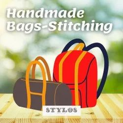Stylos Polyester 100% Handmade / Handwoven Bag Stitching / Making Service