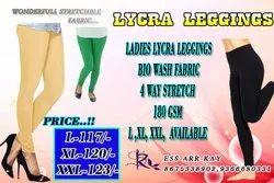 Churidar 25 COLORS Plain Lycra Leggings