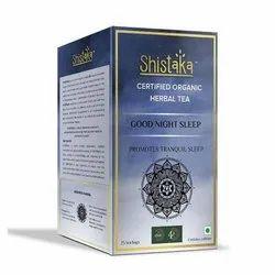 Organic Shistaka Good Night Sleep Green Tea ,