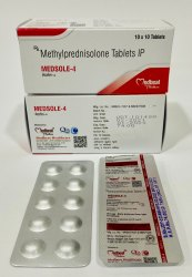 Medsole Methylprednisolone Tablet 4mg