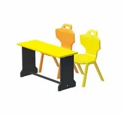 Pre Play Plastic Chair Wooden Desk
