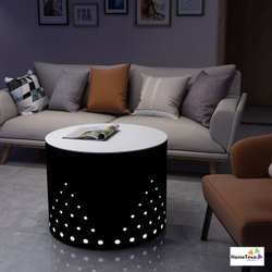 Home Texa Wooden Designer Round Table