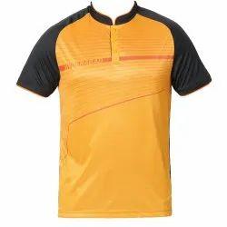 Round Half Sleeve Mens Plain T Shirts