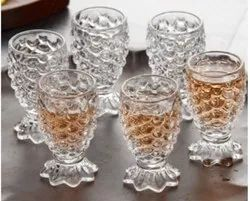 Transparent Juice Glass Set of 6 PCS, For Home
