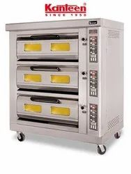 Butler Electric Triple Deck Oven With Steam EFO 6C