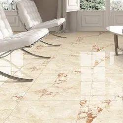 organic White Ceramic Floor Tiles, Size: 60 * 60 In cm, Thickness: 0-5 mm