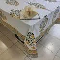 Meera Handicrafts Cotton Printed Cover Tablecloth