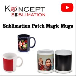 Sublimation Patch Magic Mugs