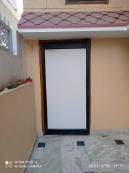 Multi-Branded Black Aluminium Doors, Exterior, Single