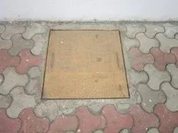 Stainless Steel Square Manhole Cover