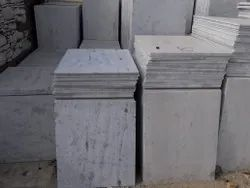 White Marble Tile, For Flooring, Thickness: 15-20 mm