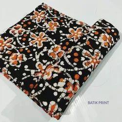 Batik Print Cotton Fabric Running