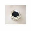 Hexagonal Silver Box
