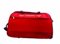 Garood Red Trolley Bags, For Travelling, 2 Piece In A Pack