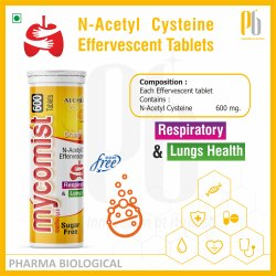 MYCOMIST 600 Effervescent Tablet