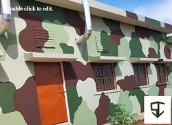 Camouflage Paint For Buildings & Concrete