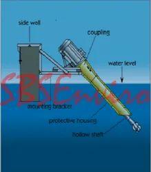Aspirating Type Aerator For Lagoons, Equalization Basins, Activated Sludge Plants