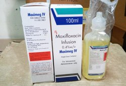 Liquid Allopathic Moxifloxacin 100 Ml 0.4% W/v, For Commercial