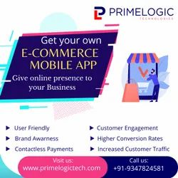 Catche Design E Commerce Mobile Application Development, For User Friendly, Available Technologies: Android And Ios