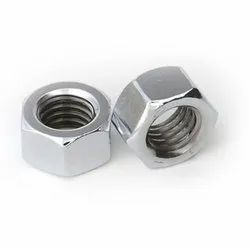 Hexagonal Stainless Steel Nut, Thickness: 12 Mm