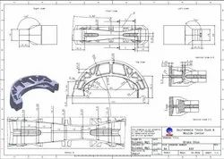 Engineering Drawings Service, Designing Software: Solidworks, Location: Worldwide