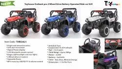 2*6V- 4Ah THROJ021 Batter Operated Ride on Jeep