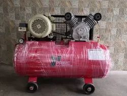 Single Stage Double Cylinder Air Compressor