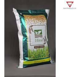 One Side BOPP Laminated PP Woven Bags