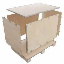 Wooden Rectangular Plywood Box Packing Service
