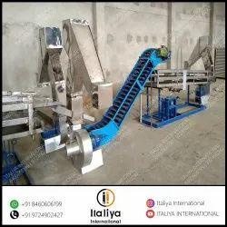 Cashew Inspection Conveyor with Metal Detector