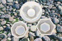 Silicone Ashtray Resin Mold - Set Of 3 - URP097-RM