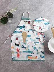 Cotton Printed Designer Aprons, For Kitchen Usage, 1