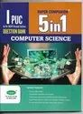11th Std 5 In 1 For Computer Science -karnataka State
