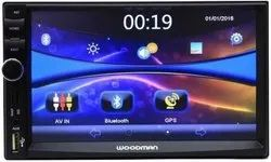 Car Music System With Navigation Video Display