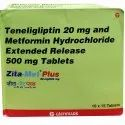 20 Mg Teneligliptin And Metformin Hydrochloride Extended Release Tablets 500 Mg