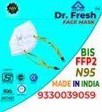 Dr Fresh ISI Mark N95 Headloop Mask With Adjuster