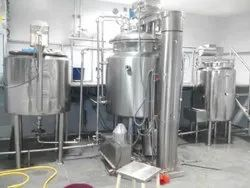 Automatic Ointment Manufacturing Plant