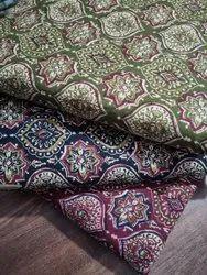 Ajrak Cotton Fabric, Digital Prints, Multicolour