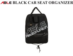 Able Black Car Back Seat Organizer
