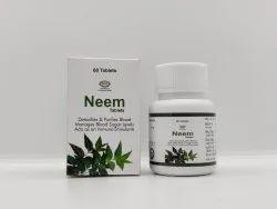 Neem Tablets, 60 Tabs, Non Prescription