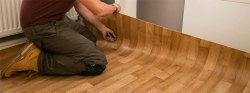 Corporate Building Vinyl/Bamboo Carpet Flooring Designing Service