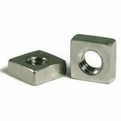 Polished Mild Steel Square Nut, Size: 15 X 15 Mm